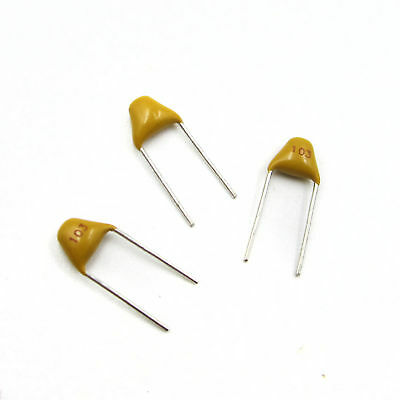 100 Pc Miniature De-Coupling Capacitor 0.01uF=103=10nF 50v Axial Ceramic MA 618