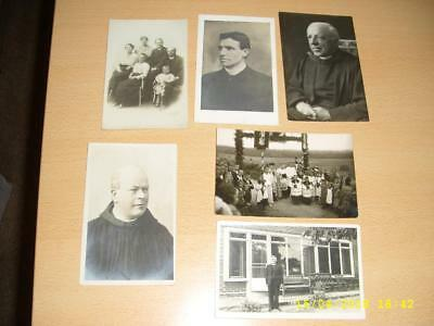Vicars  Clergymen  -  Vintage Collection Old  Photo Postcards