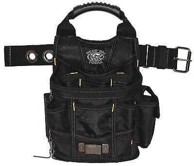 Multiple Pocket Pouch Tool Belt Bag Electrician Durable Heavy Duty Shoulder New