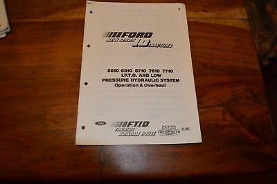 Ford 5610 6610 6710 7610 & 7710 IPTO & Low Pressure Hyd's Service Manual  (5)