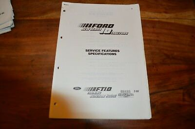 Ford 10 series Service Features Specifications Service Manual  (5)