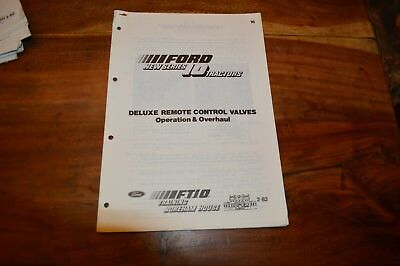 Ford 10 series Hydraulic Remote Control Valves Service Manual  (5)