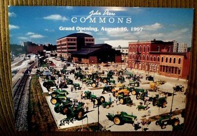 JOHN DEERE Commons Grand Opening August 16, 1997 Postcard