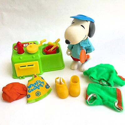 "VTG 1958 '66 United Feature Syndicate Peanuts 5"" Snoopy Doll Clothes Accessories"