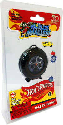 Worlds Smallest Hot Wheels Super Rally Case - Worlds Smallest (Toy New)