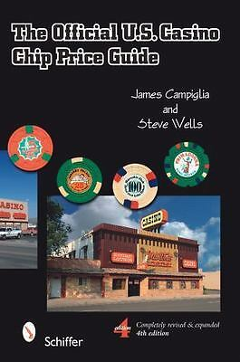 The Official U.S. Casino Chip Price Guide, Fourth Edition, books, bound, Steve W