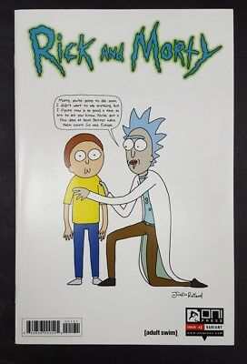 Rick and Morty #1 Justin Roiland Variant Cover 1:50, NM, Rare!