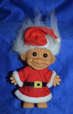 "Collectable Troll As ""Christmas Santa Claus"" By Russ"