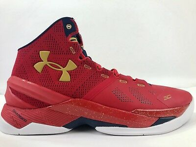 9706f3d89e NEW UNDER ARMOUR Curry 2 Floor General Mens Basketball Shoes Size 12 ...