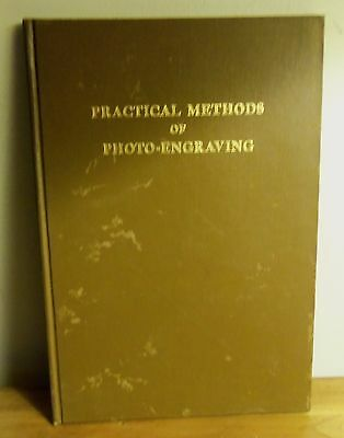 Rare 1925 PRACTICAL METHODS OF PHOTO-ENGRAVING Part III FINISHING ROUTING PROOF