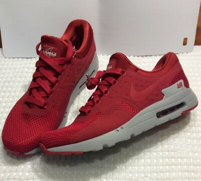 innovative design e5452 d0320 NIKE MEN'S AIR Max Zero PRM Red/Wolf Grey 881982-600 ...