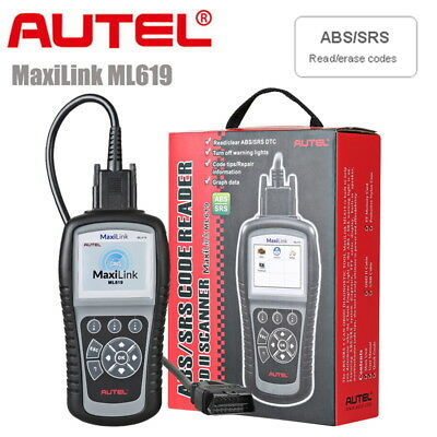 Autel MaxiLink ML619 OBD2 Diagnostic Scanner ABS SRS Airbag For Ford GM AS AL619