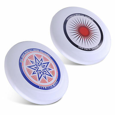 Professionelle 175G Ultimate Frisbee Wettbewerb Flying Disc Star Pattern