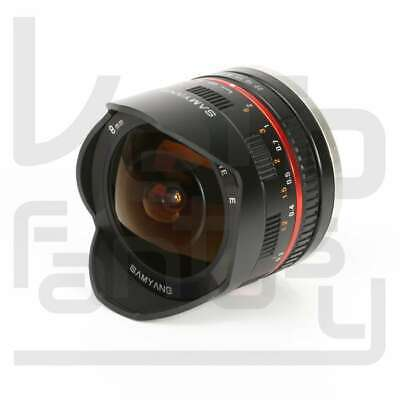 Authentique Samyang 8mm f/2.8 UMC Fish-eye lens II for Sony E Mount