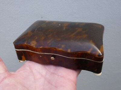 An Early 19th Century Faux Tortoise Shell Box for Spares or Repair c1820/30