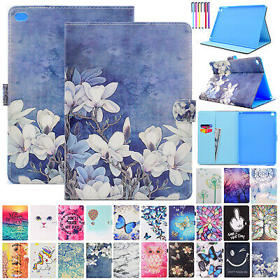 For Apple iPad 6th Gen/9.7 2018 Smart Leather Card Slots Wallet Stand Case Cover