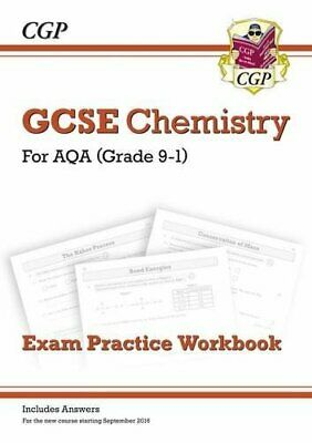 New Grade 9-1 GCSE Chemistry: AQA Exam Practice Workbook (with a... by CGP Books