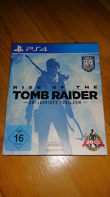 Rise Of The Tomb Raider - 20 Year Celebration (Day One Edition)  PS4
