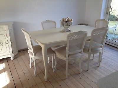 Laura Ashley Provencale Dining Table Six Chairs 895 00