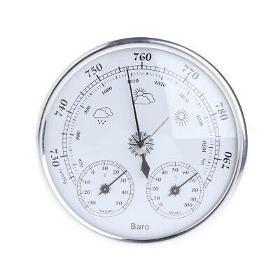 Household Weather Station Barometer Thermometer Hygrometer Wall Hanging