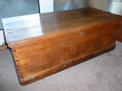 Genuine Antique Blanket Box /Chest  (Coffee Table)