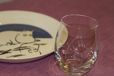 Lovely Moomin Glasses by Arabia