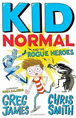 Kid Normal and the Rogue Heroes by Smith, Chris Book The Cheap Fast Free Post