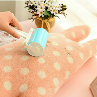 Reusable Sticky Clothes Carpet Lint Fur Pet Hair Remover Cleaner Roller Brush AU