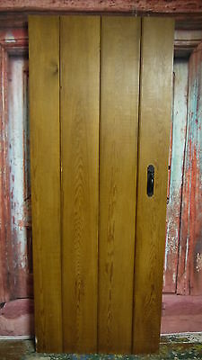 PR3c 29 3/4 x 76  Repro quality pitch pine ledge cottage door in yorkshire