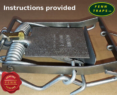 Fenn Mark 4 Genuine Fenn Mk4 Trap rat squirrel  stoat + BONUS