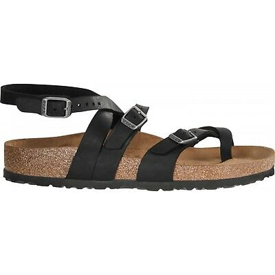 f924fcde1ba Birkenstock Seres Naturleder Female Sandals Real Leather Camberra Old Black  Blac