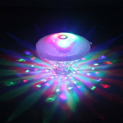 LED Bath light Swimming Pool Waterproof Floating Lights with Multi-Color 7 Light