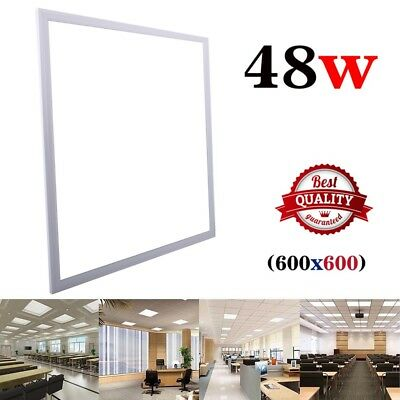 NEW 48W Ceiling Suspended Recessed LED Panel White Light Office Salon 600 x 600