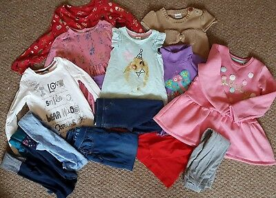 Girls Clothes 4 - 5 Years Bundle Next, M&S, H&M, Mini Club inc Tights