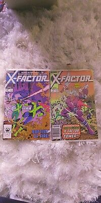 X-Factor  lot of 7
