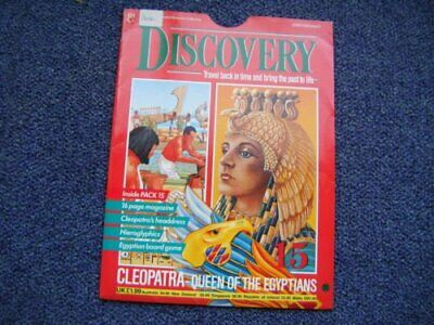 Discovery Marshall Cavendish part works - Cleopatra Book The Cheap Fast Free