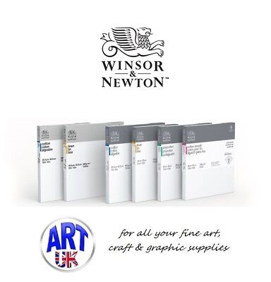 Winsor & Newton CLASSIC CANVAS COTTON DEEP EDGE Metric Artists Oil/Acrylic