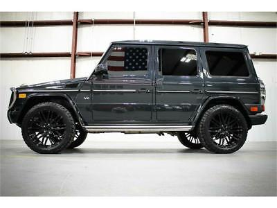 2014 Mercedes-Benz G-Class -- 2014 MERCEDES G550 4MATIC DESIGNO COLORS NEW 22 WHEELS AND TIRES TINT RARE WOW!!