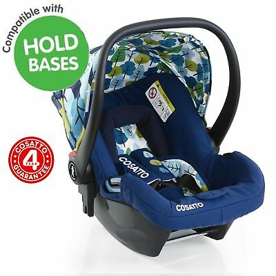 New Cosatto Hold Nightbird Baby Car Seat Group 0+ Infant Carrier Carseat