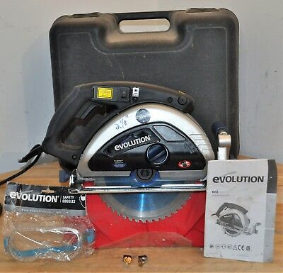 "Evolution Evo Saw 230 9"" Steel Cutting Circular Saw W/ Carrying Case"
