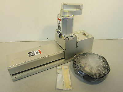Wafer Handling Robot on Track Nikon WHX17019 Includes Cables & End Effector