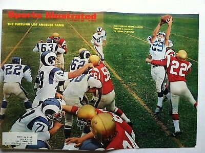 4d30017f39a 1966 LOS ANGELES RAMS ROMAN GABRIEL to TOMMY McDONALD 10-9 Sports  Illustrated