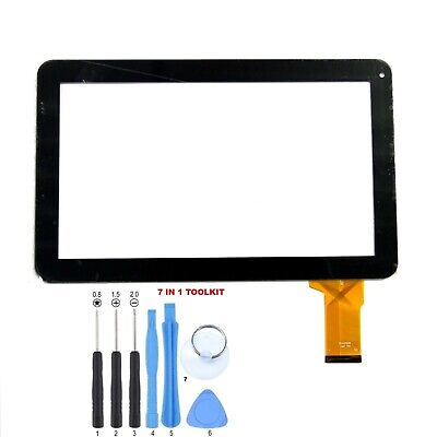 """Touch Screen Digitizer Panel for 10.1 Inch Linsay KitKat F-10XHD 10.1"""" Tablet PC"""