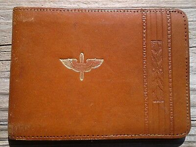 Ww2 Army Air Corps Vintage Leather Wallet 1943
