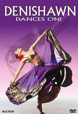 DENISHAWN DANCES ON! Rare OOP DVD with Insert Includes 23 Dance Works Nice