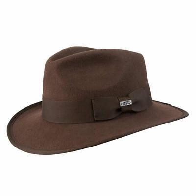 040d214f7fb9 STETSON * MENS Brown Outback Hat * Xl * New Shapeable Fedora Sun ...