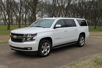 Chevrolet Suburban LT 1 Owner MSRP $64295 One Owner Perfect Carfax Moonroof Heated Leater Seats 20's MSRP New $64295