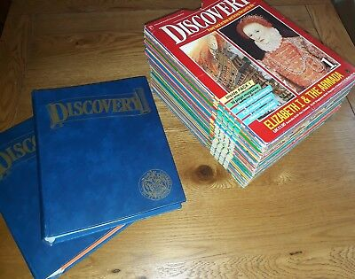 Complete Discovery Magazine 1-60 Marshall Cavendish Bound Look and Learn Set War