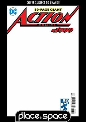 Action Comics, Vol. 3 #1000J Blank Variant  (Wk16)