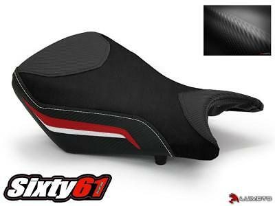BMW S1000RR Seat Cover 2012 2013 2014 Black Red Front Rider Luimoto